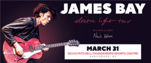 James Bay Electric Light Tour