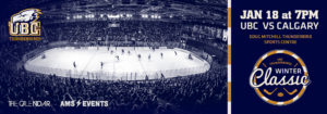 UBC Winter Classic – The Biggest Hockey Game of the Year!