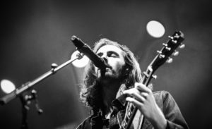 18 October 2019: Doug Mitchell Arena hosts recoding artist Hozier at the University of British Columbia, Vancouver, BC, Canada.  ****(Photo by Bob Frid/UBC Athletics  - University of BC - 2019 All Rights Reserved)****