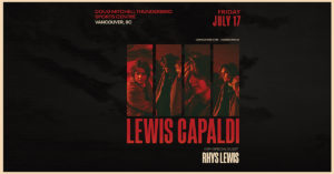 CANCELLED: Lewis Capaldi