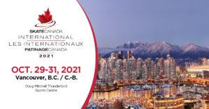 Just Announced: 2021 Skate Canada International